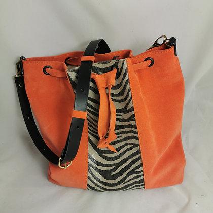 PEAU-SSIBLEMENT orange /zebre