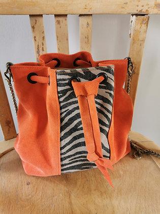 PEAU-SSIBILITE orange /zebre