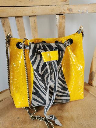 PEAU-SSIBILITE jaune /zebre