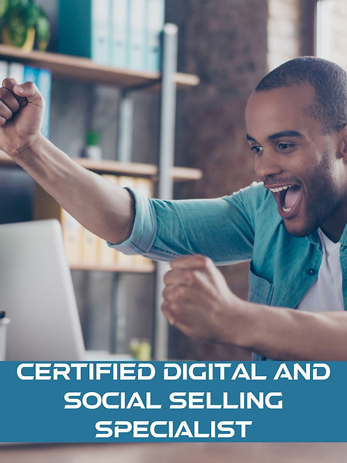 Certified Digital and Social Selling Specialist