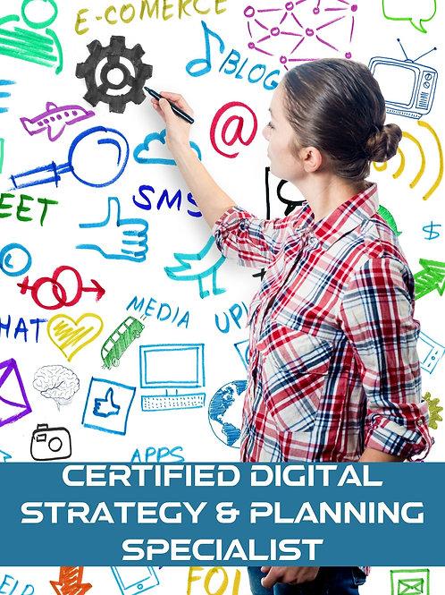 Certified Digital Strategy & Planning Specialist
