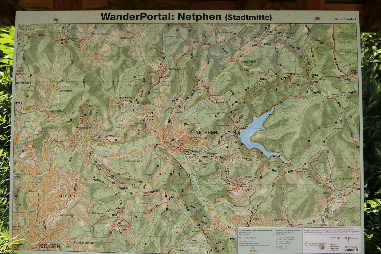 Wander Portal Stadtmitte