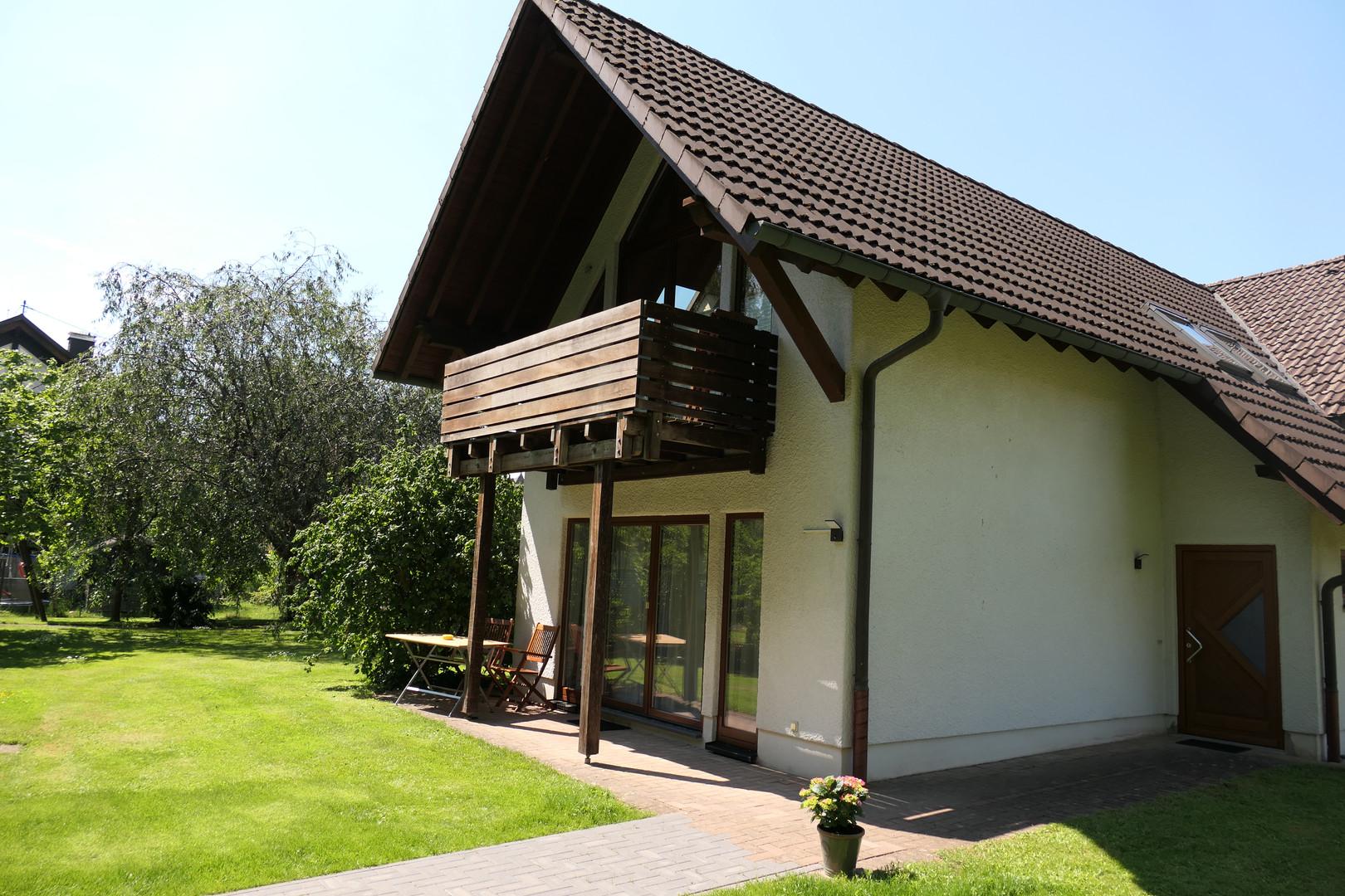 Haus Obernau Terrasse