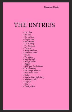 Manstress Diaries, The Entries, Gay Roma