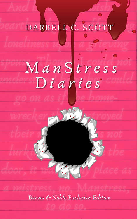 Manstress Diaries Barnes & Noble Exclusive Edition 2021 (Autographed)