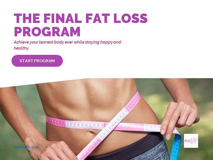 The final fat loss program, achieve your lowest levels of body fat