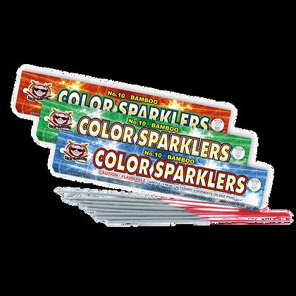 #10 Color Bamboo Sparkler