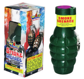 Smoke Grenade Color Changing