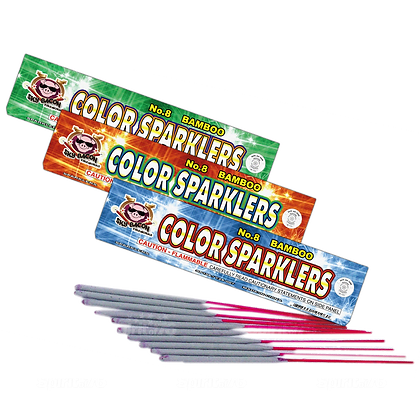 #8 Color Bamboo Sparklers