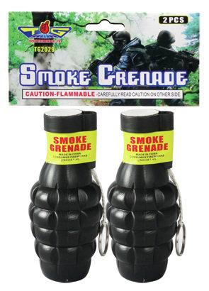Smoke Grenade White Two Pack