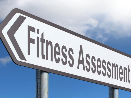 Get your fitness assessment done today!