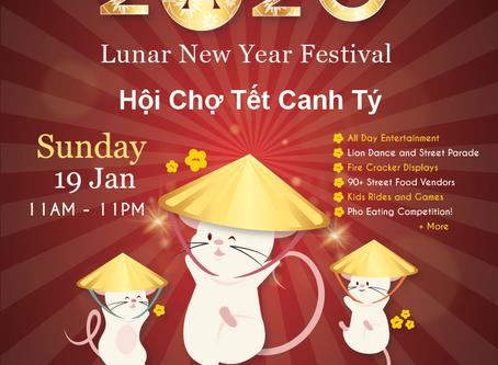 Celebrating 20th anniversary for Victoria Street Lunar Festival