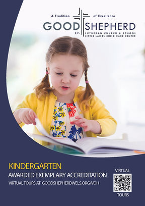 Kindergarten Flyer for open house websit