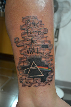 Pink Floyd fan tattoo