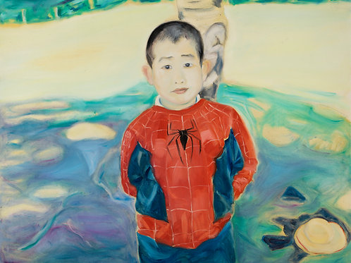 Spiderman Boy (Large Print)