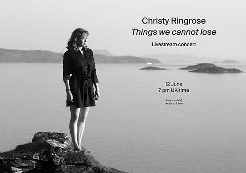 Christy Ringrose Livestream Concert