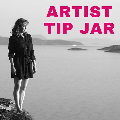 Artist Tip Jar