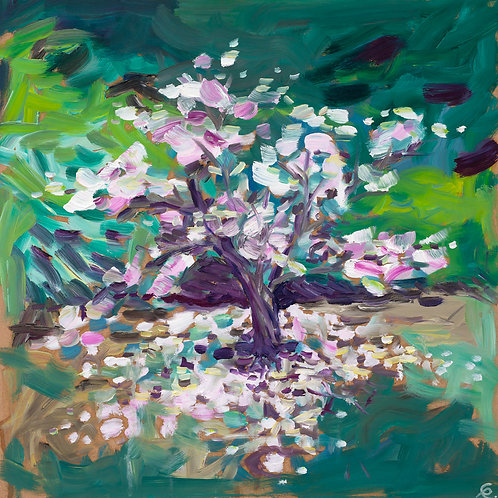 Blossom Tree (Oil painting)