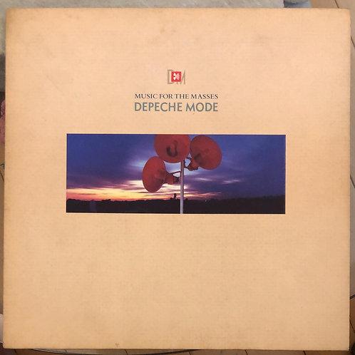 Depeche Mode – MUSIC FOR THE MASSES (Blue Colour)