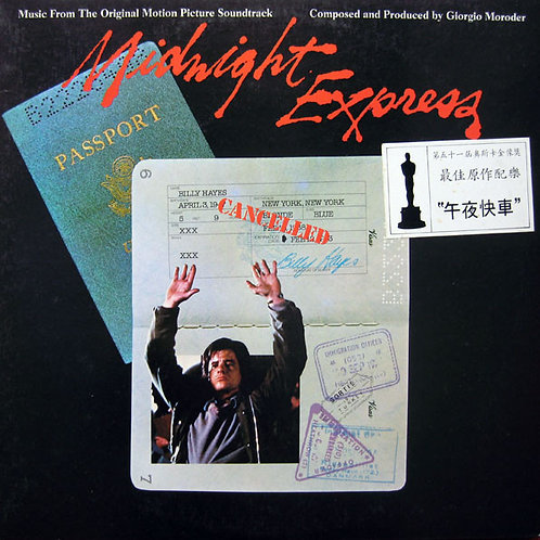 Giorgio Moroder ‎– Midnight Express (Music From The Original Motion Picture Soun