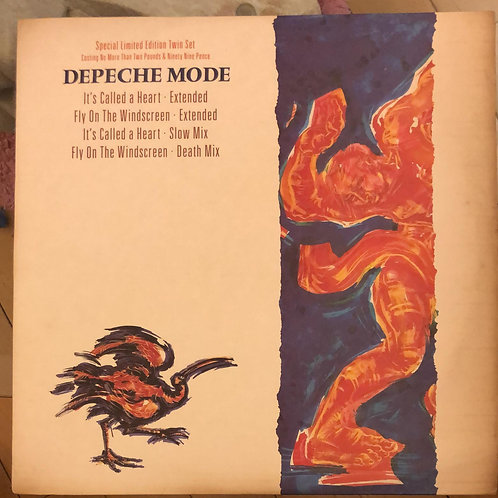 Depeche Mode ‎– It's Called a Heart (Special Limited Twin Set)  2LP