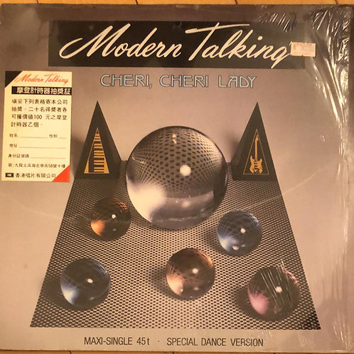Modern Talking ‎– Cheri Cheri Lady (Maxi - Single 45RPM)