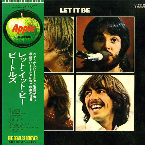 The Beatles ‎– Let It Be(1971)(Japan Version)