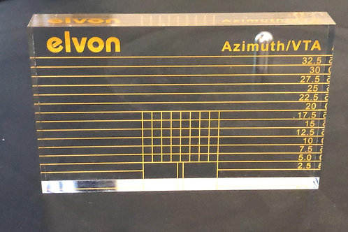 Elvon伊文 唱頭唱臂VTA平衡及Azimuth調校尺規