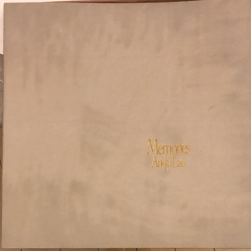 劉德華  Memories  - 95年限量NO768.BOX首版盤