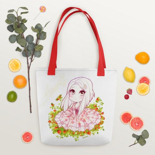 """Strawberry Girl"" Tote bag"