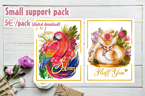 Zoo Support Small Pack
