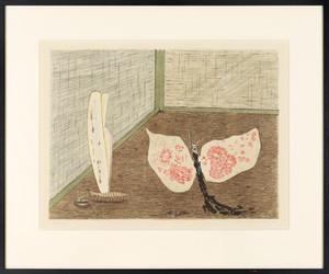 Schmettrlinge (aus einer Serie von mehreren Bildern)
