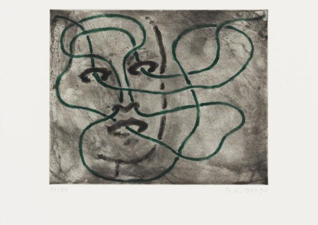 «Sinne V» von Markus Raetz