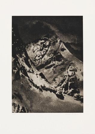 «Alpes» von Baltasar Burkhard