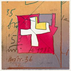 """""""Karree"""", Mappe Galerie Bertram, Burgdorf"""