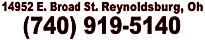 14952 E Broad St, Reynoldsburg, OH 43068, United States(740) 919-5140