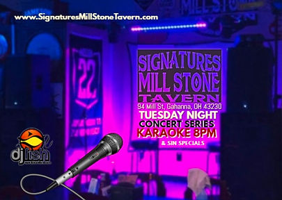 karaoke tuesday nights signatures mill h