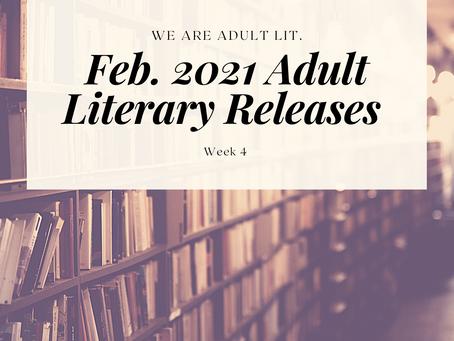 BIPOC Feb. '21 Releases in Adult Literature: Week 4