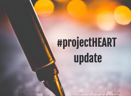 A holy moment   a #ProjectHEART update