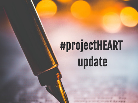 A holy moment | a #ProjectHEART update