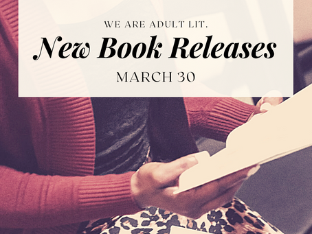 BIPOC Mar. '21 Releases in Adult Literature: Week 5