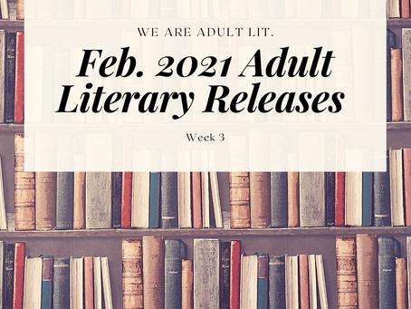 BIPOC Feb. '21 Releases in Adult Literature: Week 3