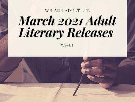BIPOC Mar. '21 Releases in Adult Literature: Week 1