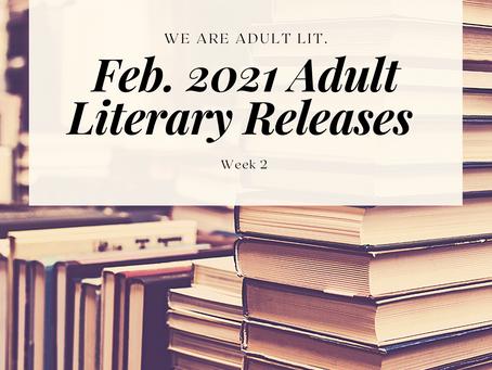 BIPOC Feb. '21 Releases in Adult Literature: Week 2