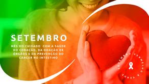 SETEMBRO - Vermelho / Verde