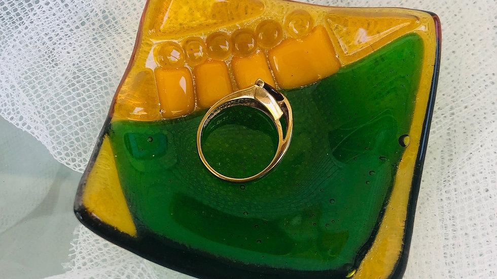 Green&Gold Mini Dish