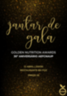 Jantar de Gala & Golden Nutrition Awards