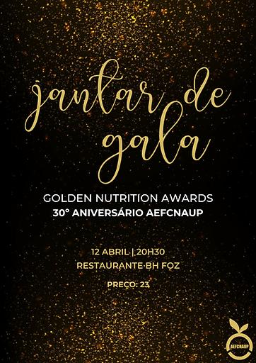 Jantar de Gala & Golden Nutrition Awards