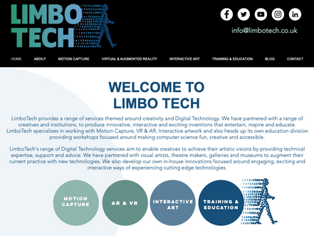WELCOME TO OUR BRAND NEW LIMBO TECH WEBSITE!