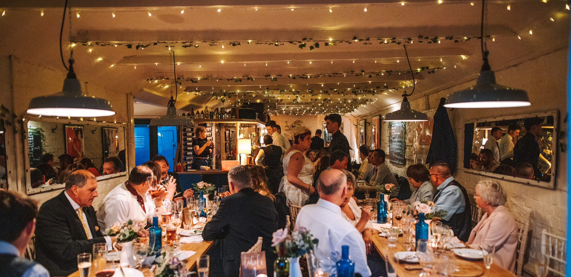 A Wedding breakfast at The Richmond Arms in West Sussex